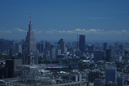 新宿から見えた東京タワー