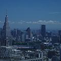 写真: 新宿から見えた東京タワー