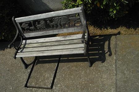 小さなベンチ その1