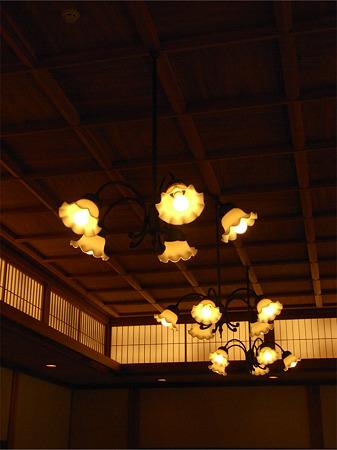 鶴翔閣照明