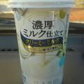 【先々週のドリンク】千葉県野田市上三ヶ尾字平井の、雪印メグミルク野田工場 雪印メグミルク 濃厚ミルク仕立てクリーミーミルク ミルクとクリームが織り成す濃厚なコク ほんのりバニラ風味