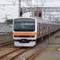 Photos: 209系M71編成【普通 南船橋】 (4)