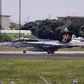 ある日の厚木基地。。GWに飛ぶVFA-115タロン色付き  ランウェイ01。。20160429