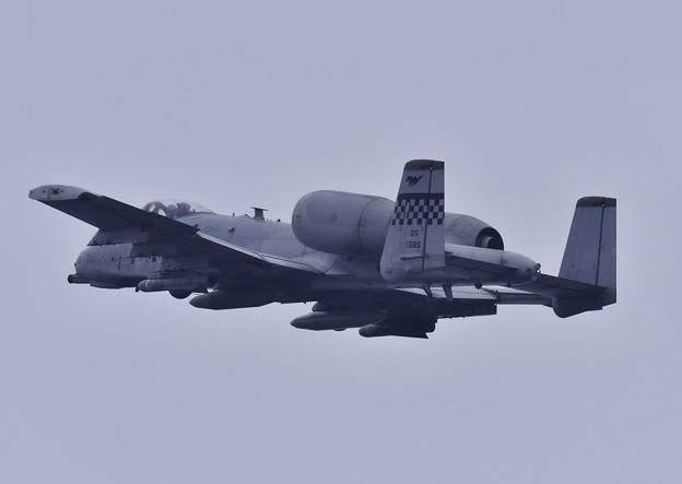 岩国基地 雨の中 A-10を見送って。。初めて見た上がりで余韻に浸る 5月6日