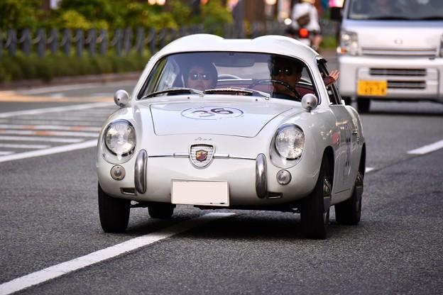 RALLY YOKOHAMA 名車 FIAT ABARTH 750GT ZAGATO。。20160521