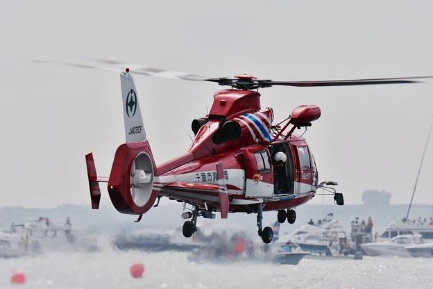レッドブルエアレース 救難救助デモストレーション。。20160605