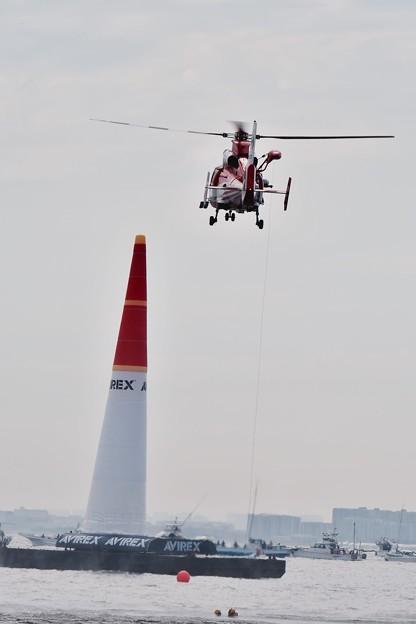 レッドブルエアレース。。海の救助デモストレーション 20160605