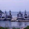 軍港の町。。横須賀風景。。横須賀基地