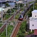 YYよこすかのりものフェスタ。。臨時伊豆急行黒船列車。。