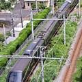 横須賀を走る伊豆急行黒船列車。。リゾート21