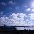 撮って出し。。千葉県館山の朝の空。。7月30日