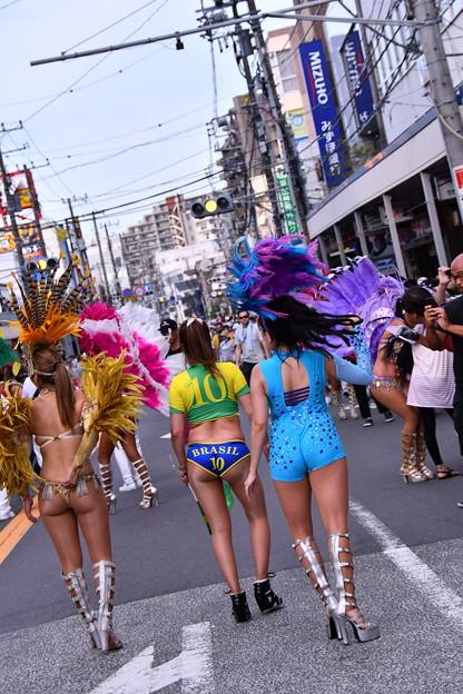 サンバ美女。。ブラジルの10番。。横須賀おっぱま祭り 20160710