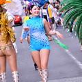 サンバ美女。。華麗にステップで。。横須賀おっぱま祭り 20160710
