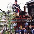 昔の町並みに似合う伝統の山車。。佐原の大祭夏 20160717
