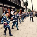 昔の町並みで盛り上げる祭りの踊り。。佐原の大祭夏 20160717