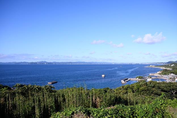 青い空の千葉県館山湾。。20160730
