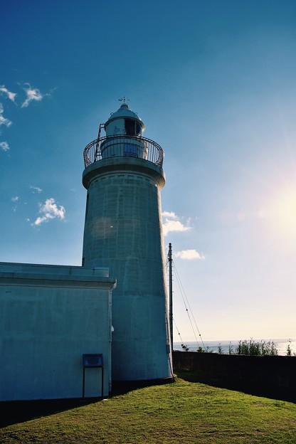 夕暮れ前の千葉県館山 洲崎灯台。。20160730