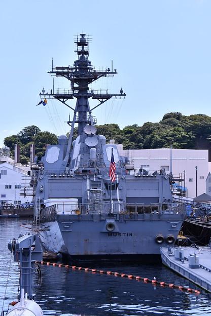 米海軍駆逐艦マスティン。。改修工事中20160806