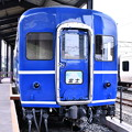 Photos: 門司港 懐かしいブルートレイン富士 九州鉄道記念館 20161007