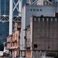 門司港の倉庫群。。関門海峡 20161007