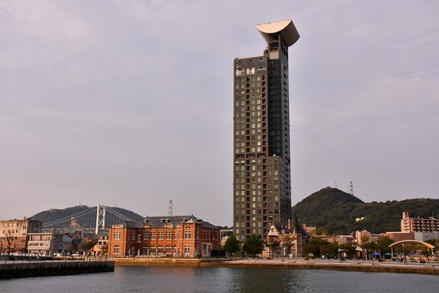 門司港のタワーマンション。。展望台