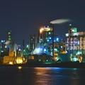 Photos: 北九州工場地帯 八幡工業地帯 工場夜景 20161007