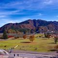i宮ヶ瀬ダム湖畔の紅葉と楽しむ公園。。20161120