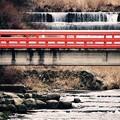 Photos: 箱根湯本の温泉街を流れる川。。早川 20170129