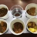 撮って出し。。木更津駐屯地の自慢のカレー食べ比べ 300円 2月25日