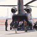 撮って出し。。木更津航空祭 CH-47チヌーク 体験滑走。。2月25日