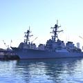 軍港めぐりから見る米海軍ミサイル駆逐艦ジョン・S・マケイン 20170212