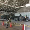 Photos: 木更津航空祭。。未使用ヘリコプター部品庫。。