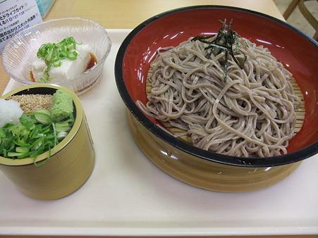 蒜山高原SA(上り):ざる蕎麦