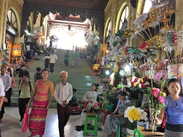 シュエダゴンバゴダ ミャンマー (2)