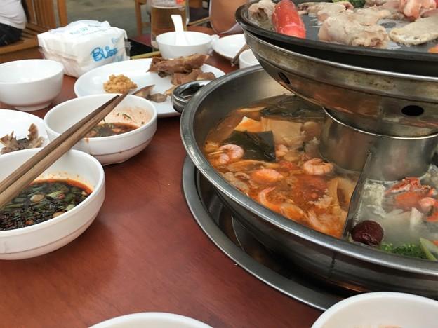 ヤンゴン 四川火鍋って四川っぽくないぞななんちゃってな高級?レストラン(笑) (8)