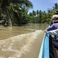 写真: 秘境ツアーの様な水路移動 水位の高低差に愕然 (14)