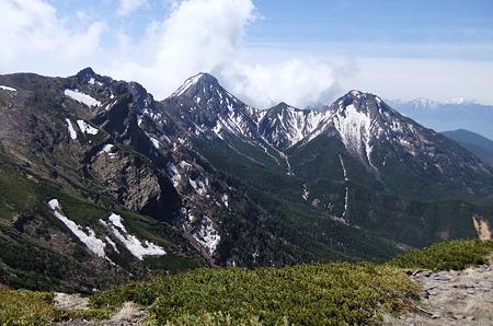 八ヶ岳の主峰