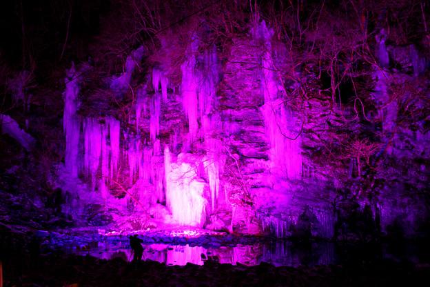 Photos: 氷柱ライトアップ