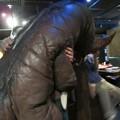 Photos: 怪獣酒場のゴモラさんハグされていて愛しい(了承済み)