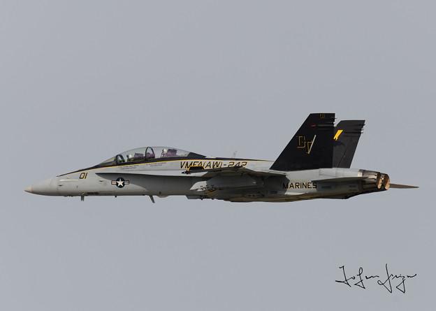 写真: FA-18DCAGサイド