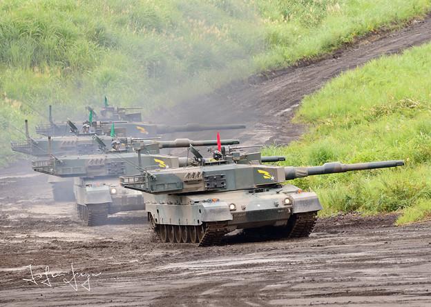 90式戦車小隊