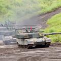 写真: 90式戦車小隊