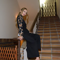 写真: 若月雅シンボルドーム階段