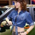 写真: ダイハツ青モデル