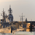 写真: 護衛艦かが練習艦しまゆき