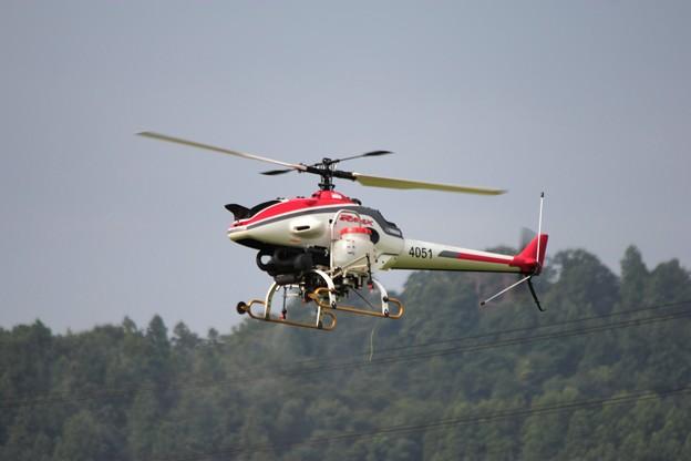 農薬空中散布 無人ヘリコプター 3