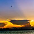 SunsetPlain2-08030