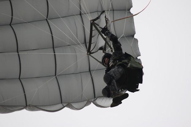 降下訓練始め10 百里救難隊