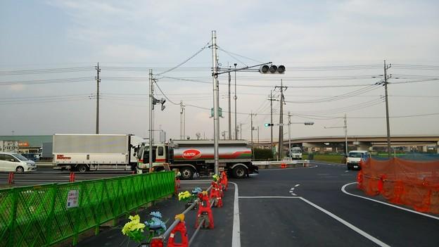 2014年10月27日の画像4 新しい交差点