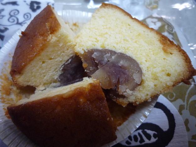 栗のカップケーキ11